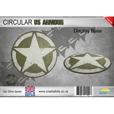 BASE CIRCULAR US ARMOUR (200 mm) Coastal Kits 20082