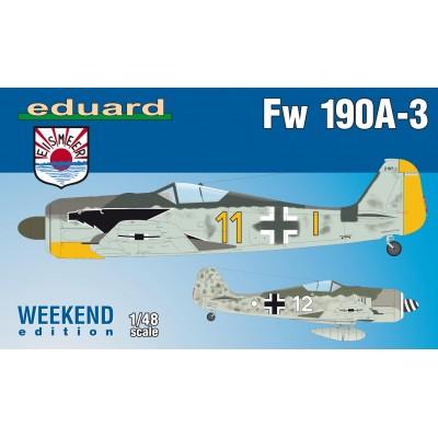 FOCKE WULF Fw-190 A-3 -1/48- Eduard 84112