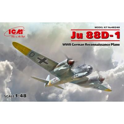 JUNKERS JU-88 D-1 -1/48- ICM 48240