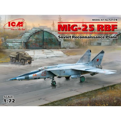 MIKOYAN GUREVICH MIG-25 RBF -1/72- ICM 72174