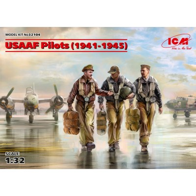 PILOTOS USAAF (1941-1945) -1/32- ICM 32104