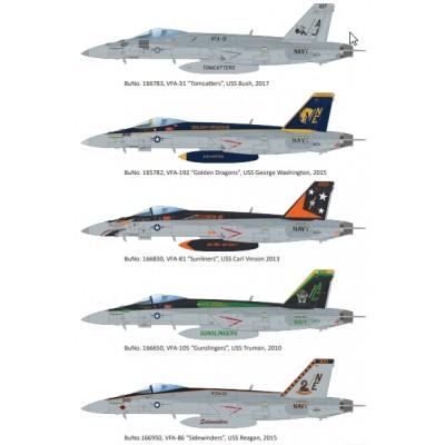 "McDONNELL DOUGLAS F/A-18F Super Hornet ""SUPERBUG"" -1/48- Eduard 11129"