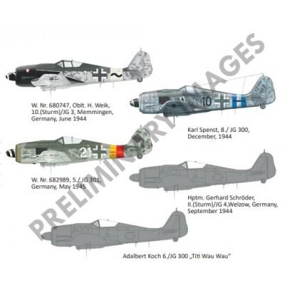 FOCKE WULF Fw-190 A8 / R2 -1/48- Eduard 82145