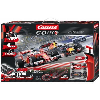 CIRCUITO CARRERA GO!!! + Power Lap -1/43- Carrera 20066006