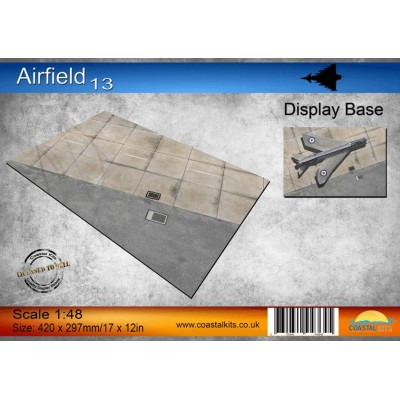 PISTA DE AVIACION 13 (420 x 297 mm) -1/48- Coastal Kits CKS795-48