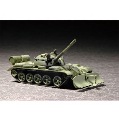 CARRO DE COMBATE T-55 & BTU-55 -1/72- Trumpeter 07284
