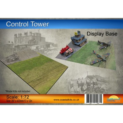 PISTA DE AVIACION TORRE DE CONTROL (420 x 297 mm) -1/72- Coastal Kits CKS1200-72