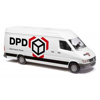 MERCEDES BENZ SPRINTER DPD - ESCALA H0 (1/87) - BUSCH 47849