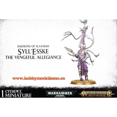 DAEMONS OF SLAANESH SYLLESSKE- GAMES WORKSHOP 97-47