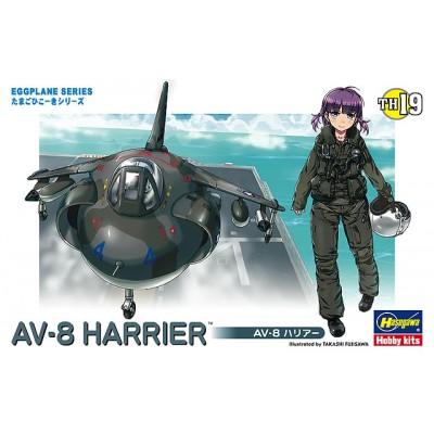 EGGPLANE AV-8 HARRIER - HASEGAWA 60129