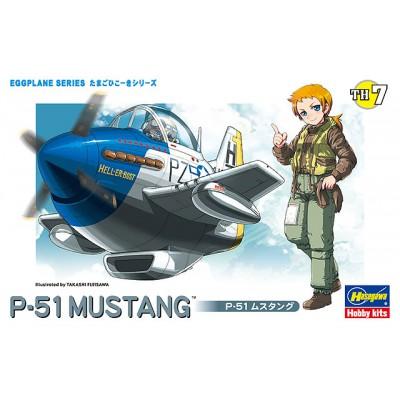 EGGPLANE P-51 MUSTANG - HASEGAWA 60117