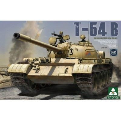 CARRO DE COMBATE T-54 B Late -1/35- Takom 2055