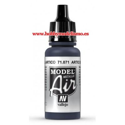 PINTURA ACRILICA AZUL ARTICO METALIZADO (17 ml)