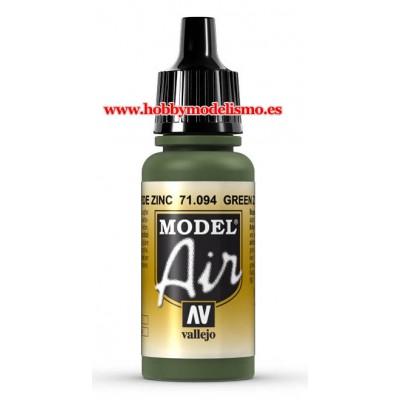 PINTURA ACRILICA VERDE ZINC (17 ml)