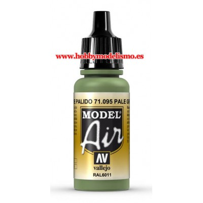 PINTURA ACRILICA VERDE PALIDO (17 ml)