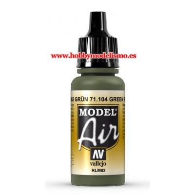 PINTURA ACRILICA VERDE R.L.M. 62 (17 ml)
