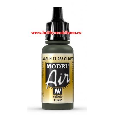 PINTURA ACRILICA OLIVGRUN RLM80 (17 ml)