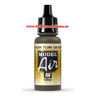 PINTURA ACRILICA VERDE OLIVA IJA (17 ml)