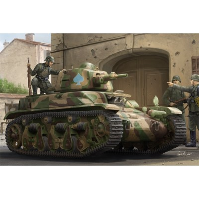 CARRO DE COMBATE RENAULT R-39 / Panzer 35(f) -1/35- Hobby Boss 83893