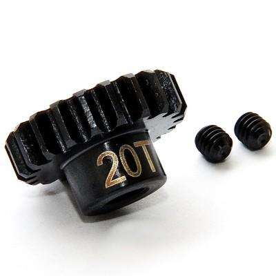 PIÑON 1/8 MOTOR ELECTRICO 20T / 5 mm - Ho Bao OP-0037