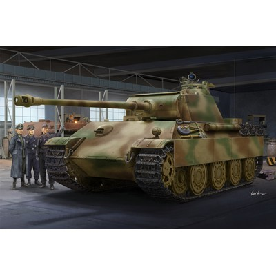 CARRO DE COMBATE Sd.Kfz. 171 PANTHER G Late -1/16- Trumpeter 00929