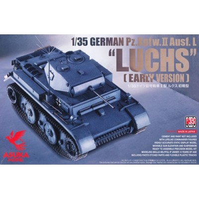 CARRO DE COMBATE Sd.Kfz. 123 PANZER II Ausf. L LUCHS (Early) -1/35- Asuka Model 35-003