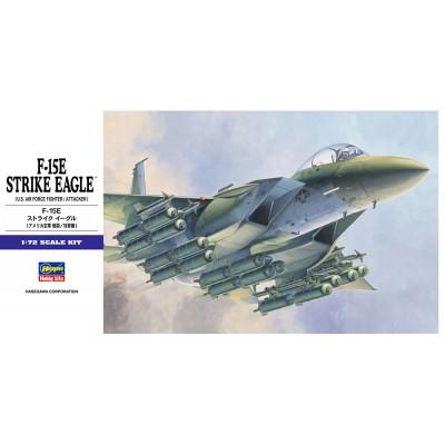 McDONNELL DOUGLAS F-15 E STRIKE EAGLE -1/72- Hasegawa E10