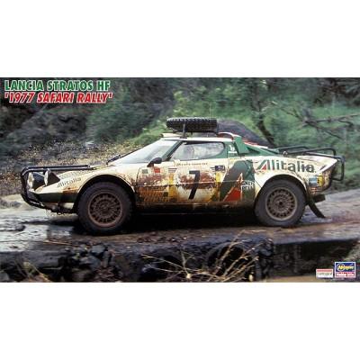 "LANCIA STRATOS HF ""Rally Safari 1977"" -1/24- Hasegawa CR-36"