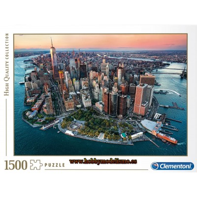 PUZZLE 1500 pzas NUEVA YORK - Clementoni 31810