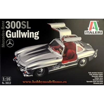 MERDEDES-BENZ 300 SL Gullwing -1/16- Italeri 3612
