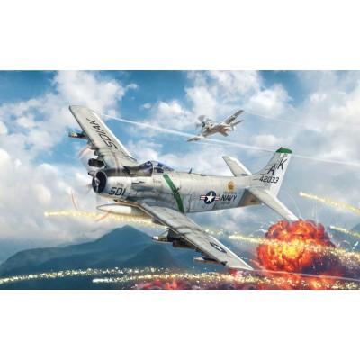 DOUGLAS A-1 H SKYRAIDER -1/48- Italeri 2788