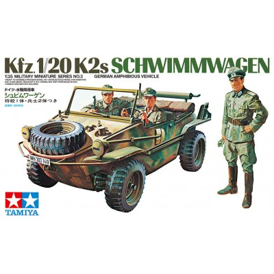 VEHICULO ANFIBIO Sd.Kfz. 1/20 Schwimmwagen -1/35- Tamiya 35003