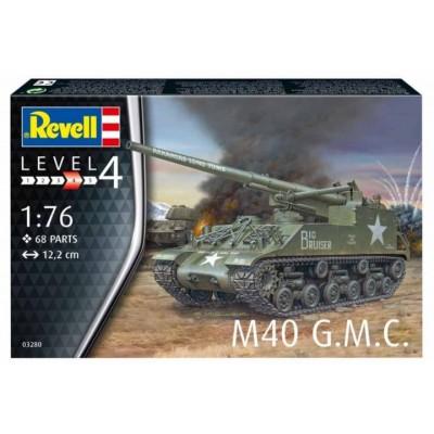 CAÑON AUTOPROPULSADO M-40 (155 mm) Long Tom -1/76- Revell 03280