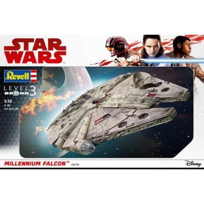 STAR WARS: MILLENNIUM FALCON -1/72- Revell 06718