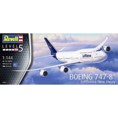BOEING 747-8 Lufthansa -1/144- Revell 03891