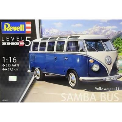 VOLKSWAGEN T1 SAMBA BUS -1/16- Revell 07009