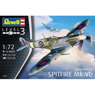 SUPERMARINE SPITFIRE MK-Vb -1/72- Revell 03897