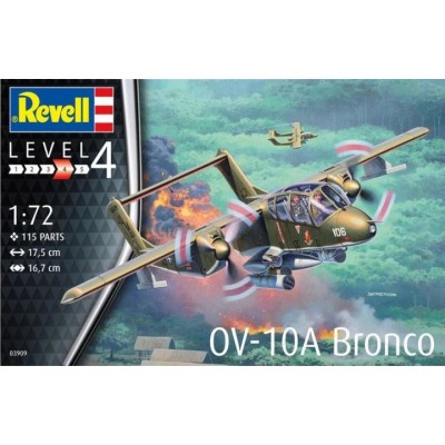 NORTH AMERICAN ROCKWELL OV-10 A BRONCO -1/72- Revell 03909