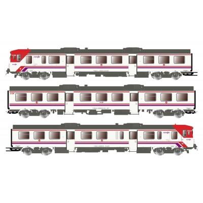 AUTOMOTOR DIESEL 592 RENFE - Cercanias DIGITAL CON SONIDO Epoca V-VI - Electrotren E3420S