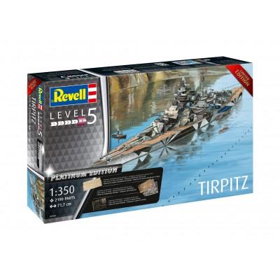 ACORAZADO TIRPITZ (Platinum Edition) 1/350 - Revell 05160
