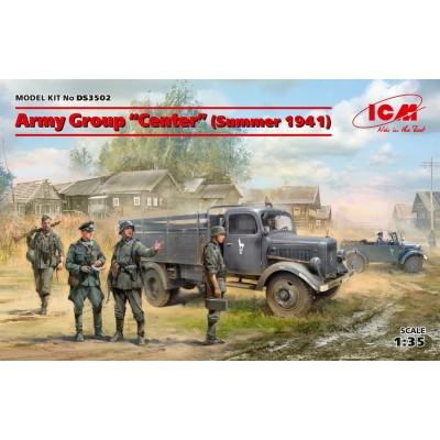 SET GRUPO DE EJERCITO CENTRO (Verano 1941) -1/35- ICM DS3502