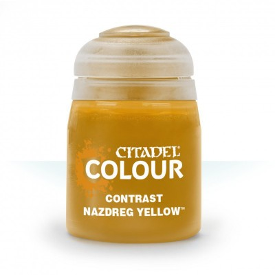 Contrast: NAZDREG YELLOW (18 ml) - Games Workshop 29-21