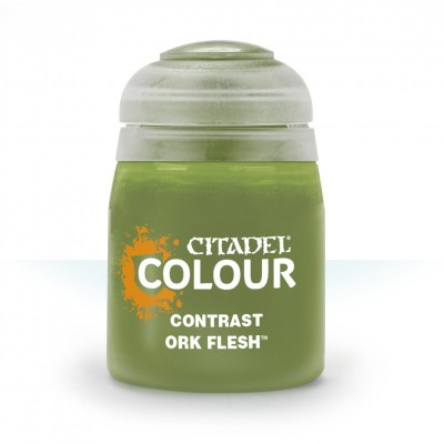 Contrast: ORK FLESH (18 ml) - Games Workshop 29-22