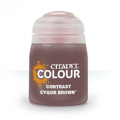 Contrast: CYGOR BROWN (18 ml) - Games Workshop 29-29