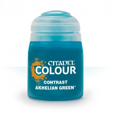 Contrast: AKHELIAN GREEN (18 ml) - Games Workshop 29-19