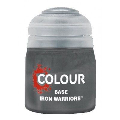 Base: IRON WARRIOR (12 ml) - Games Workshop 21-48