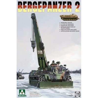 CARRO DE RECUPERACION BERGEPANZER 2 -1/35- Takom 2122