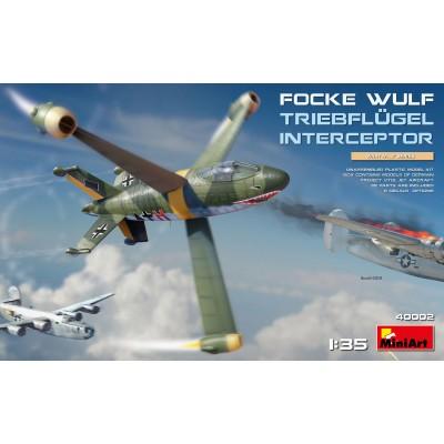 FOCKE-WULF TRIEBFLUGE -1/35- MiniArt Model 40002