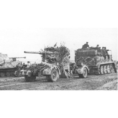 SEMIORUGA Sd.Kfz. 7 & CAÑON Flak 36/37 (88 mm) -1/35- Dragon 6948