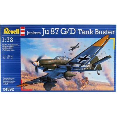 JUNKERS JU-87 G/D STUKA - ESCALA 1/72 - REVELL 04692